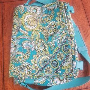 Vera bradley messenger bag for laptop.